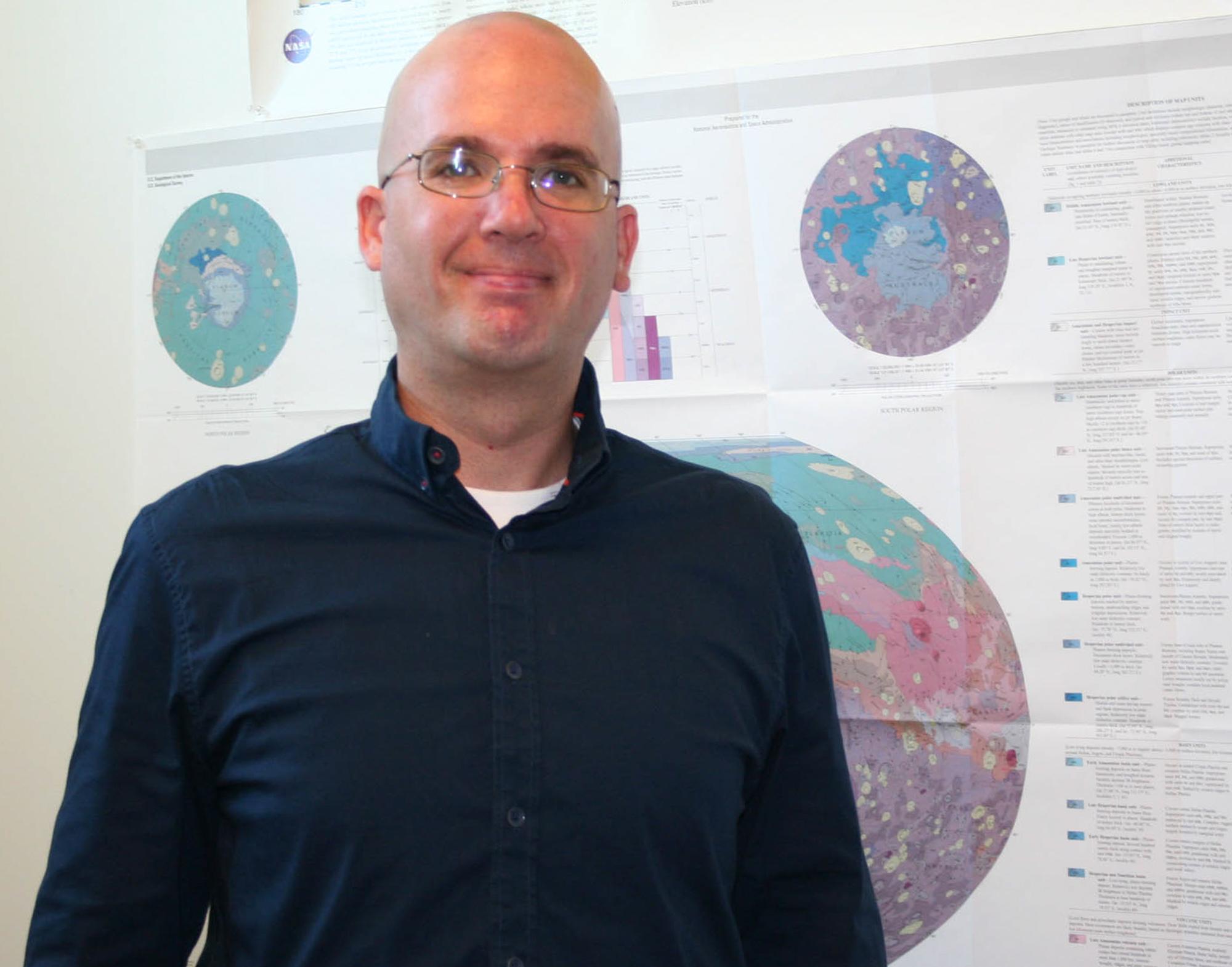 Pierce awarded grant from NASA