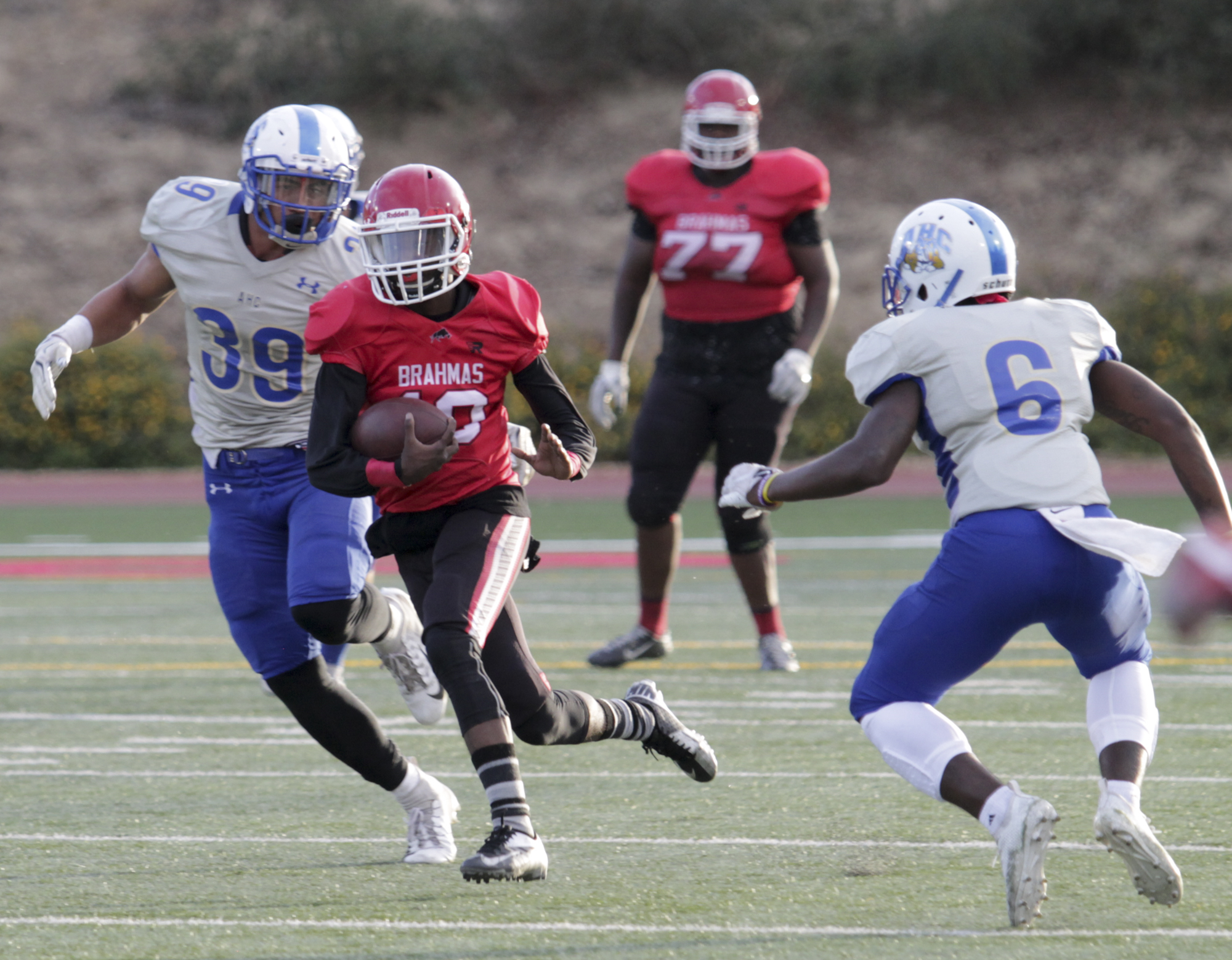 Football falls in home finale