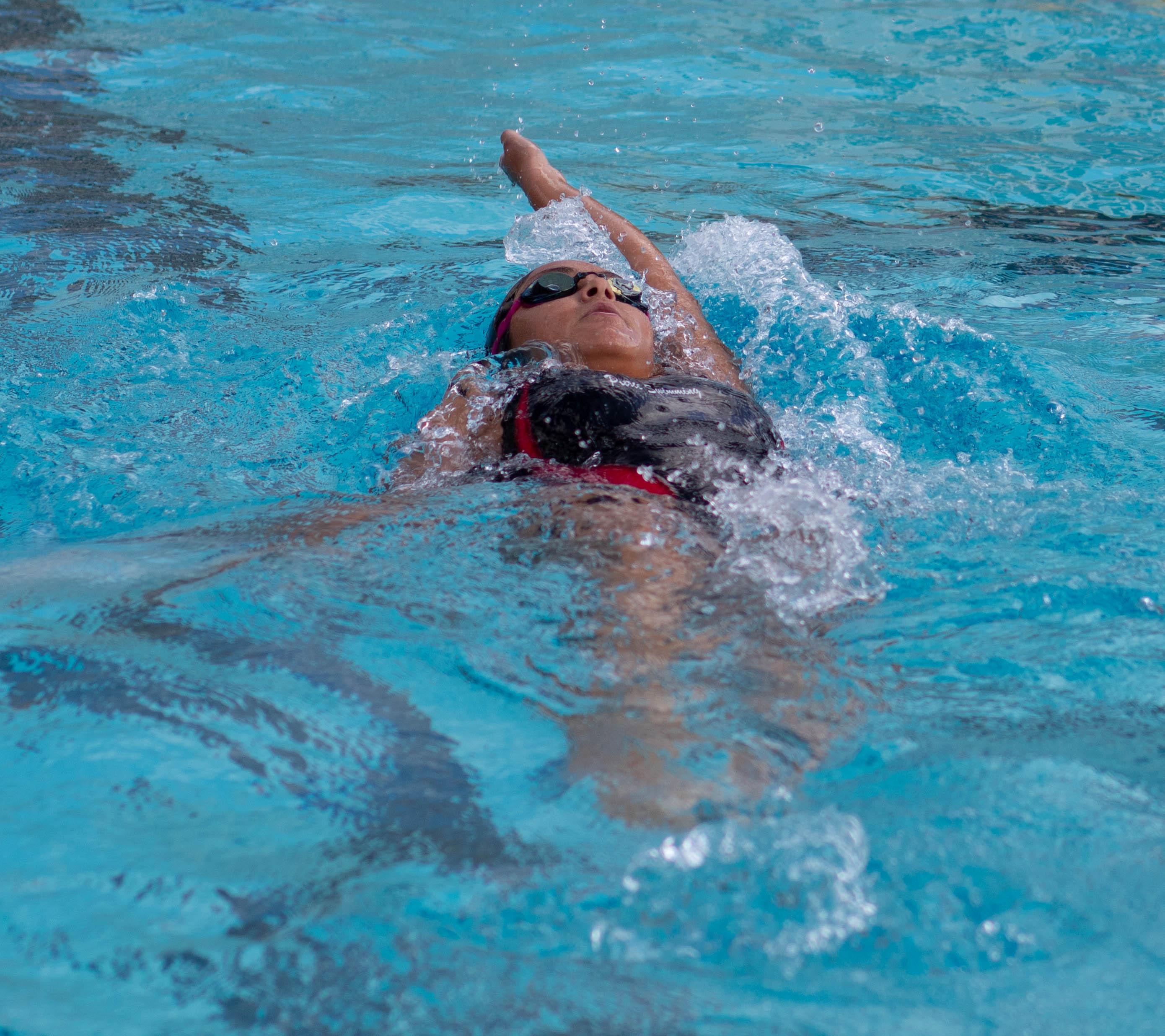 Swim competes at Pasadena