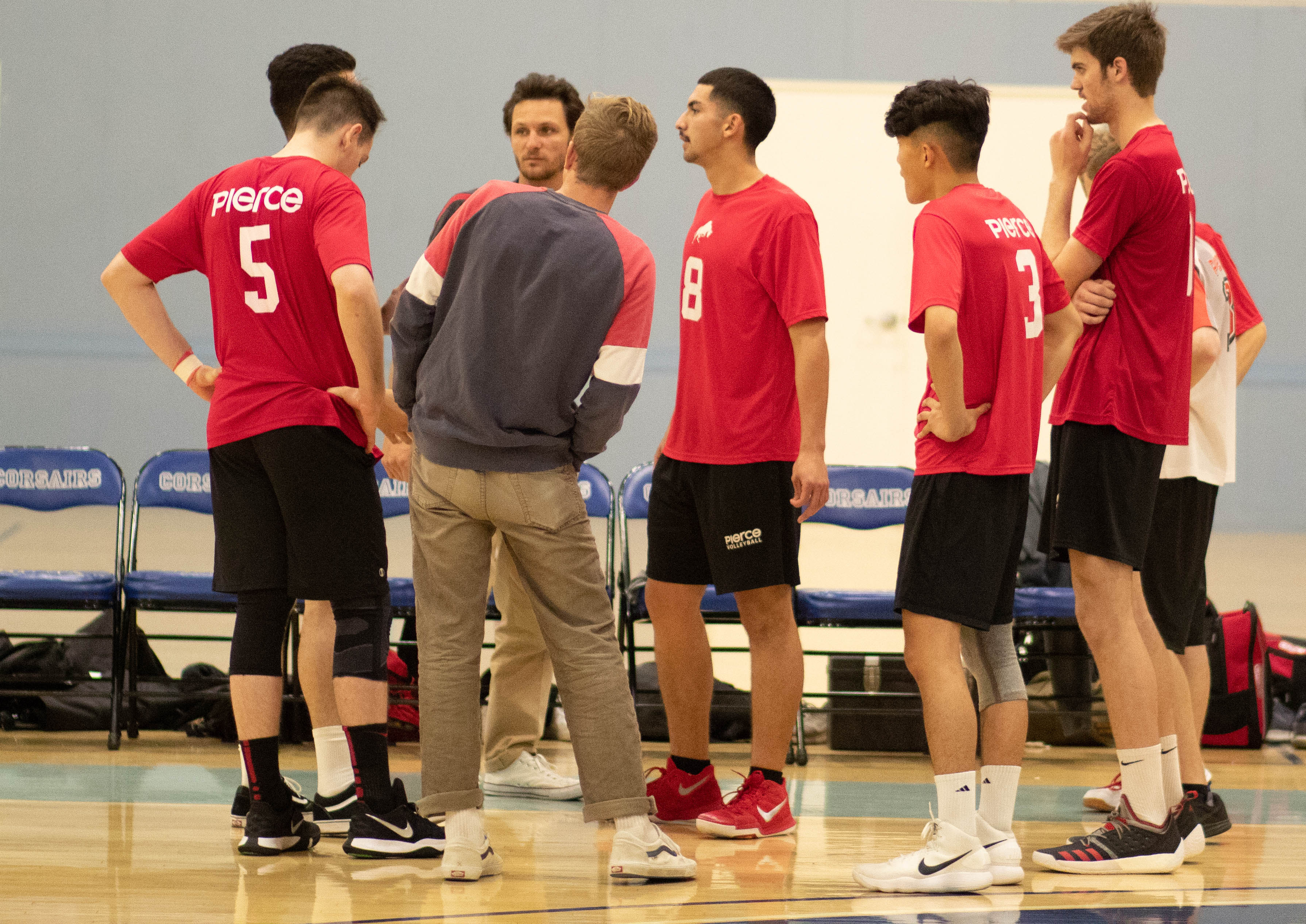 Volleyball lose at SMC