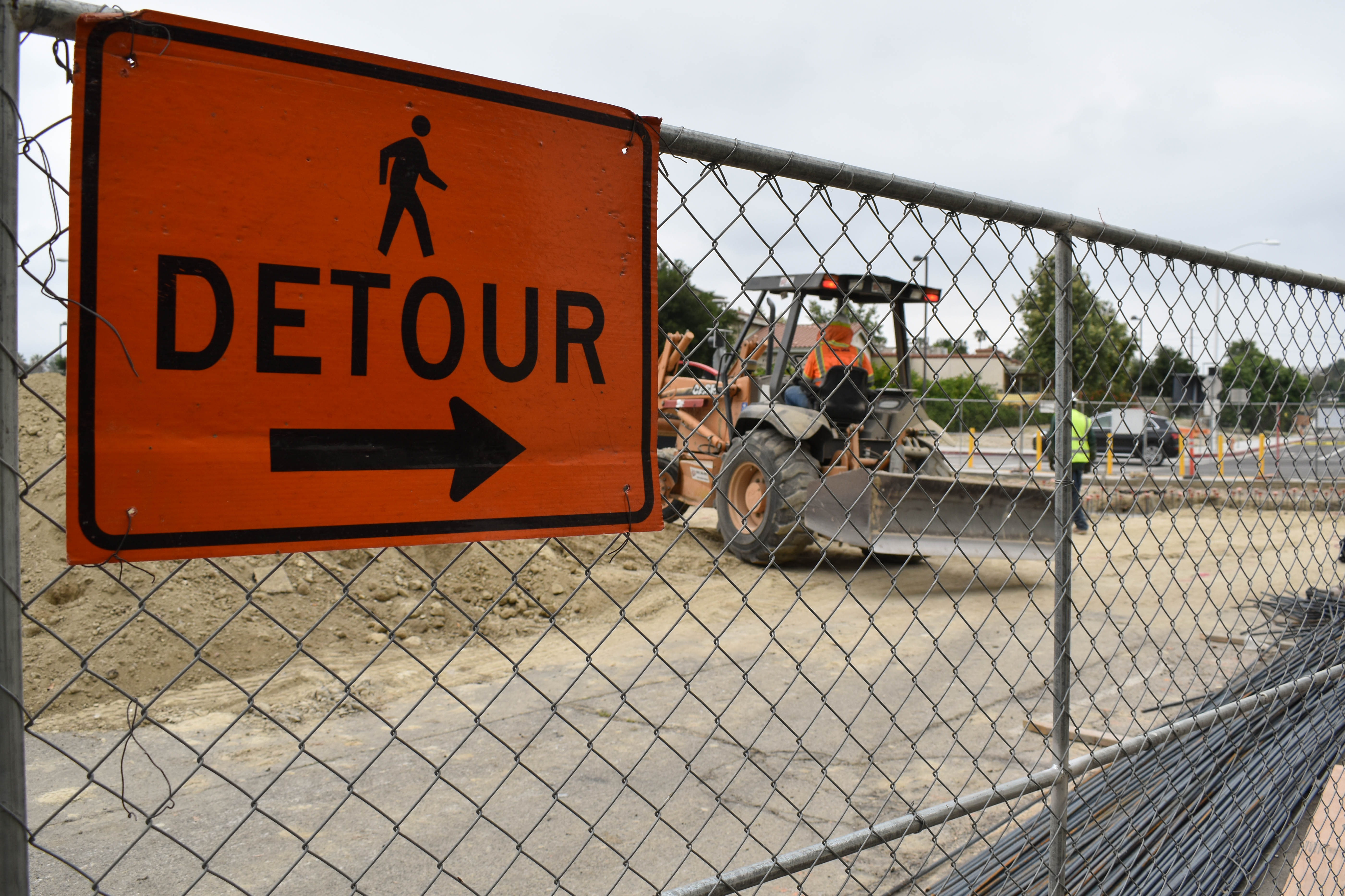 BRIEF: Construction opens up campus