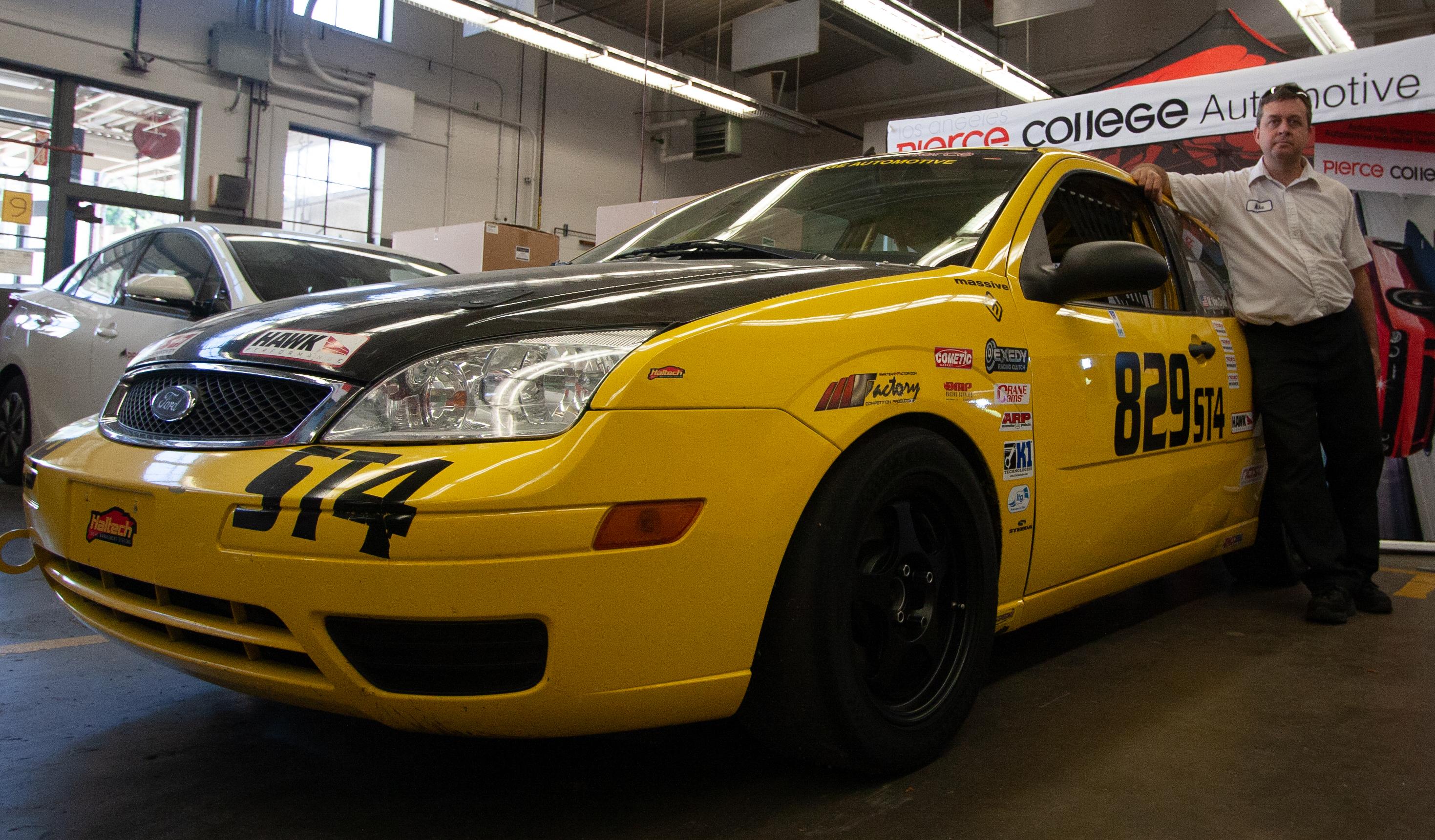 From passenger car to full on racecar