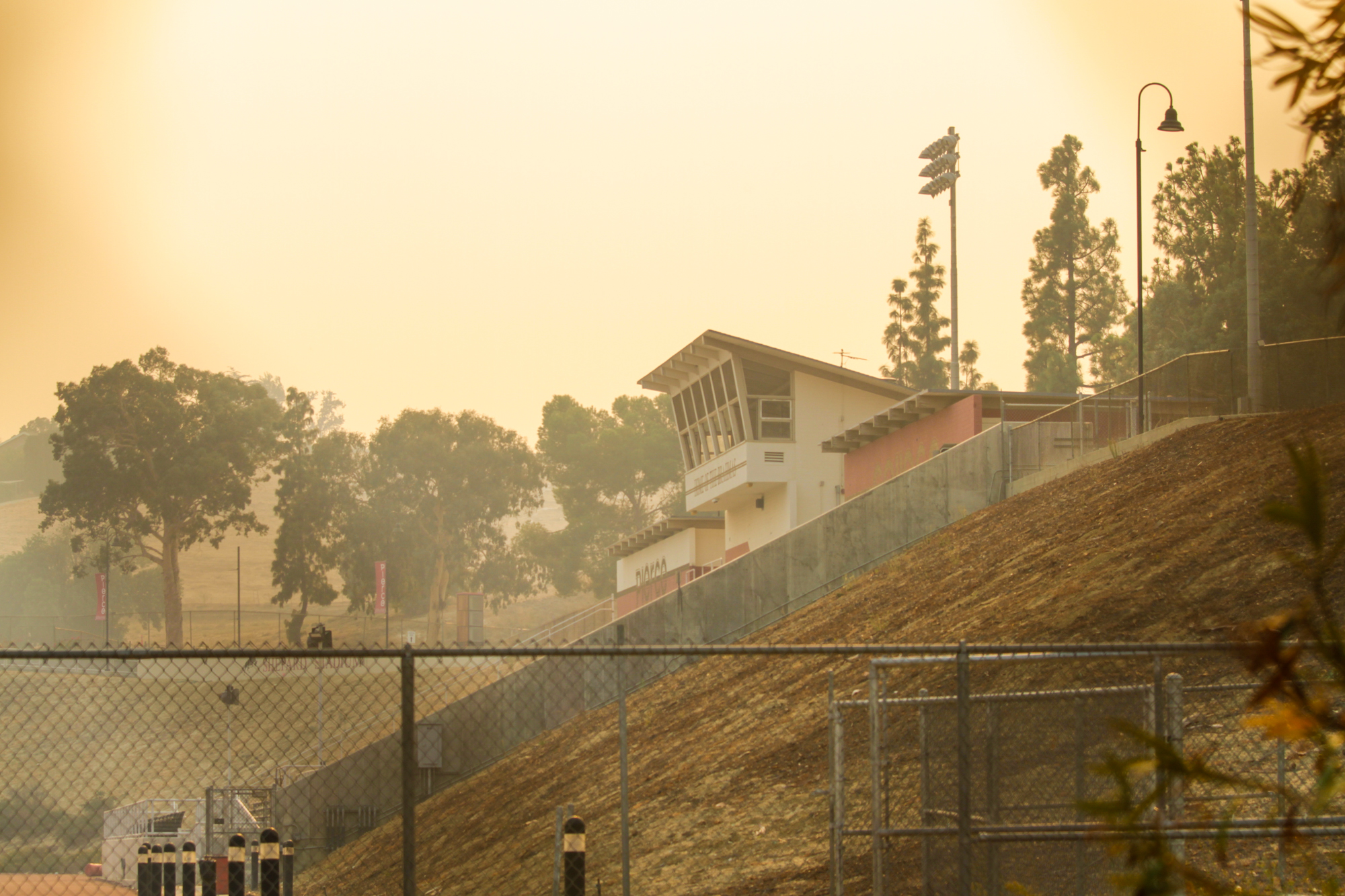 Air quality delays sporting events