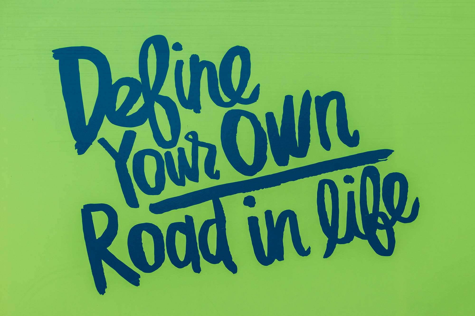 Driving down success lane