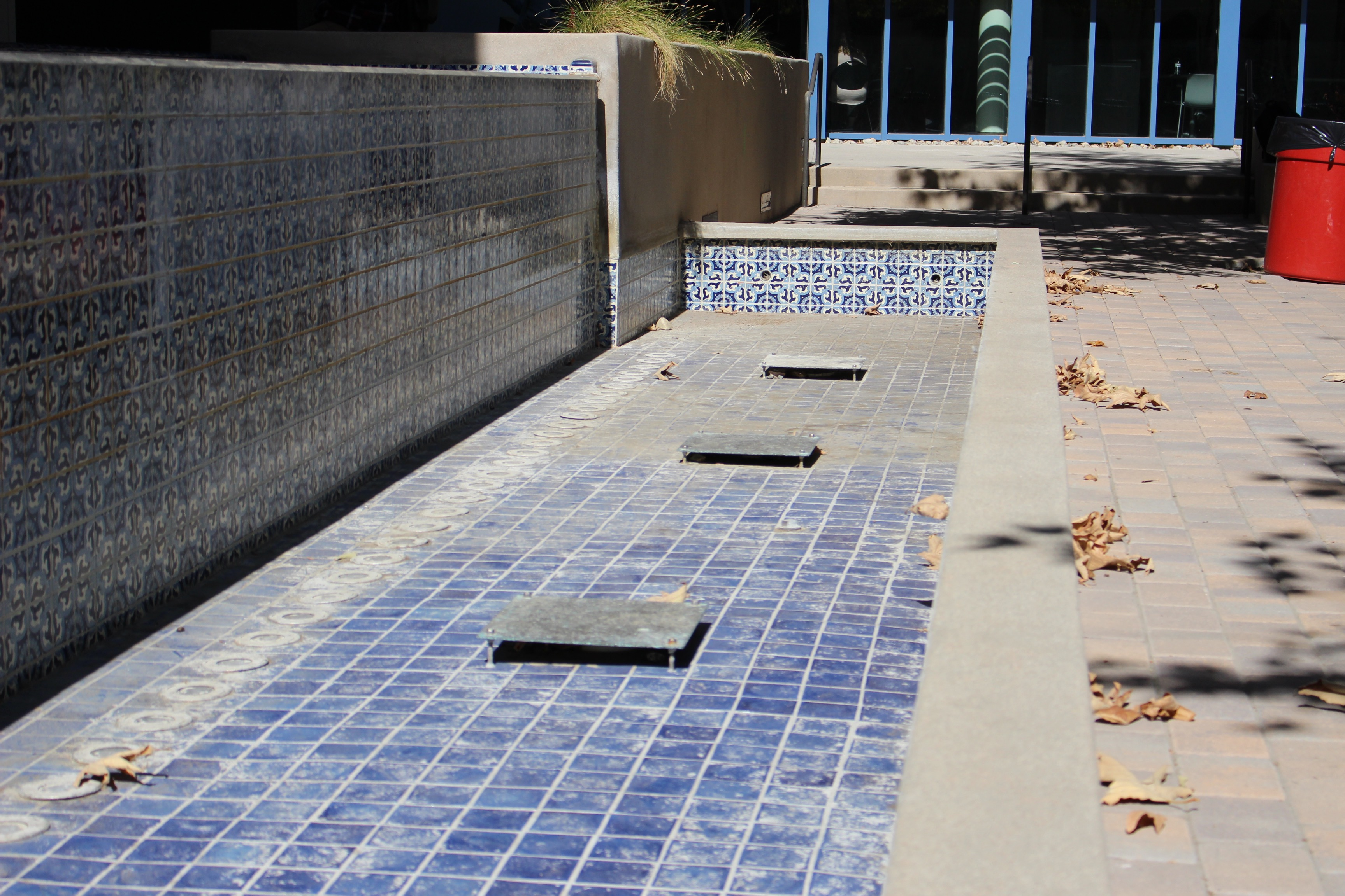 Fountains are dry, costs remain high