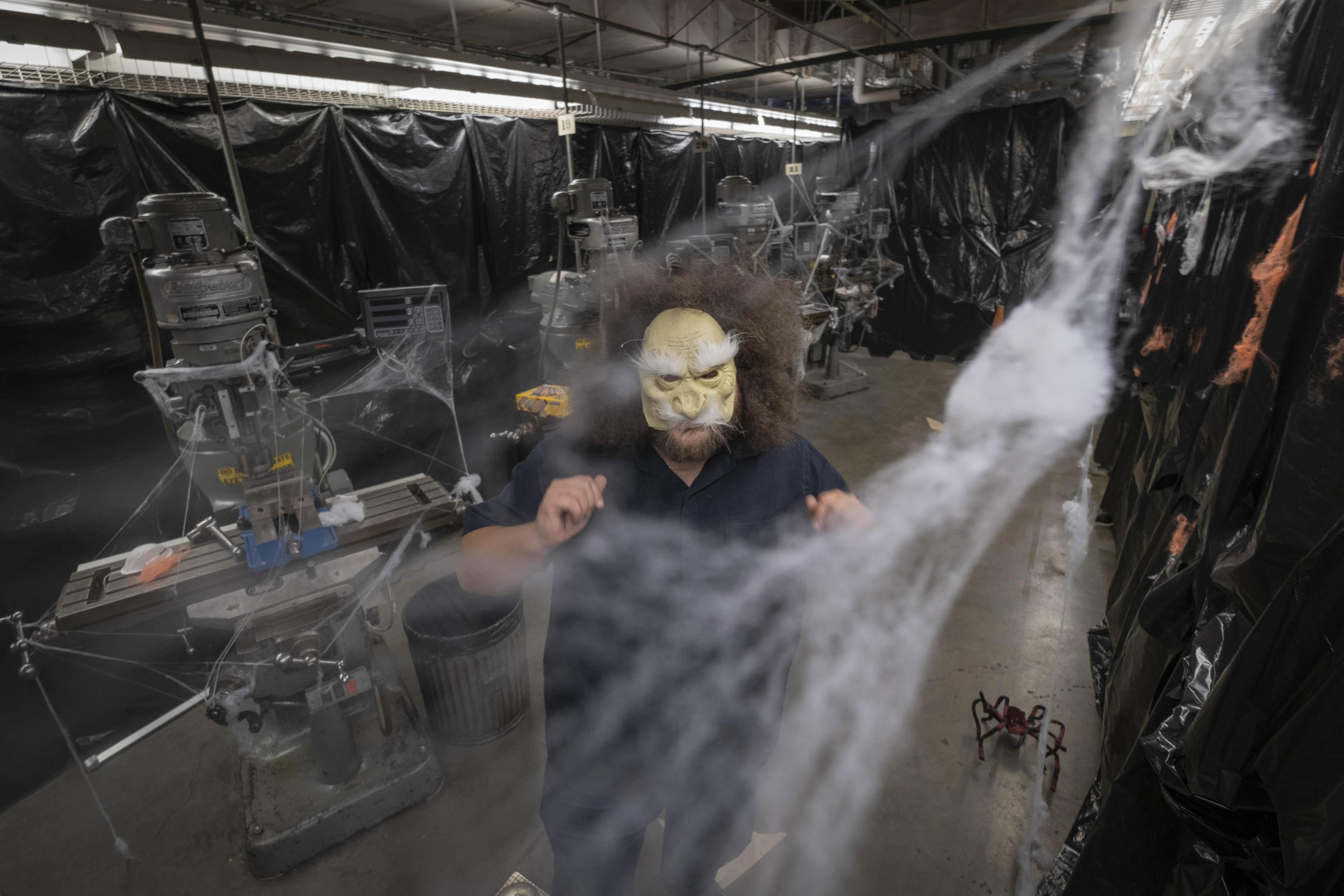 A shop built for scares