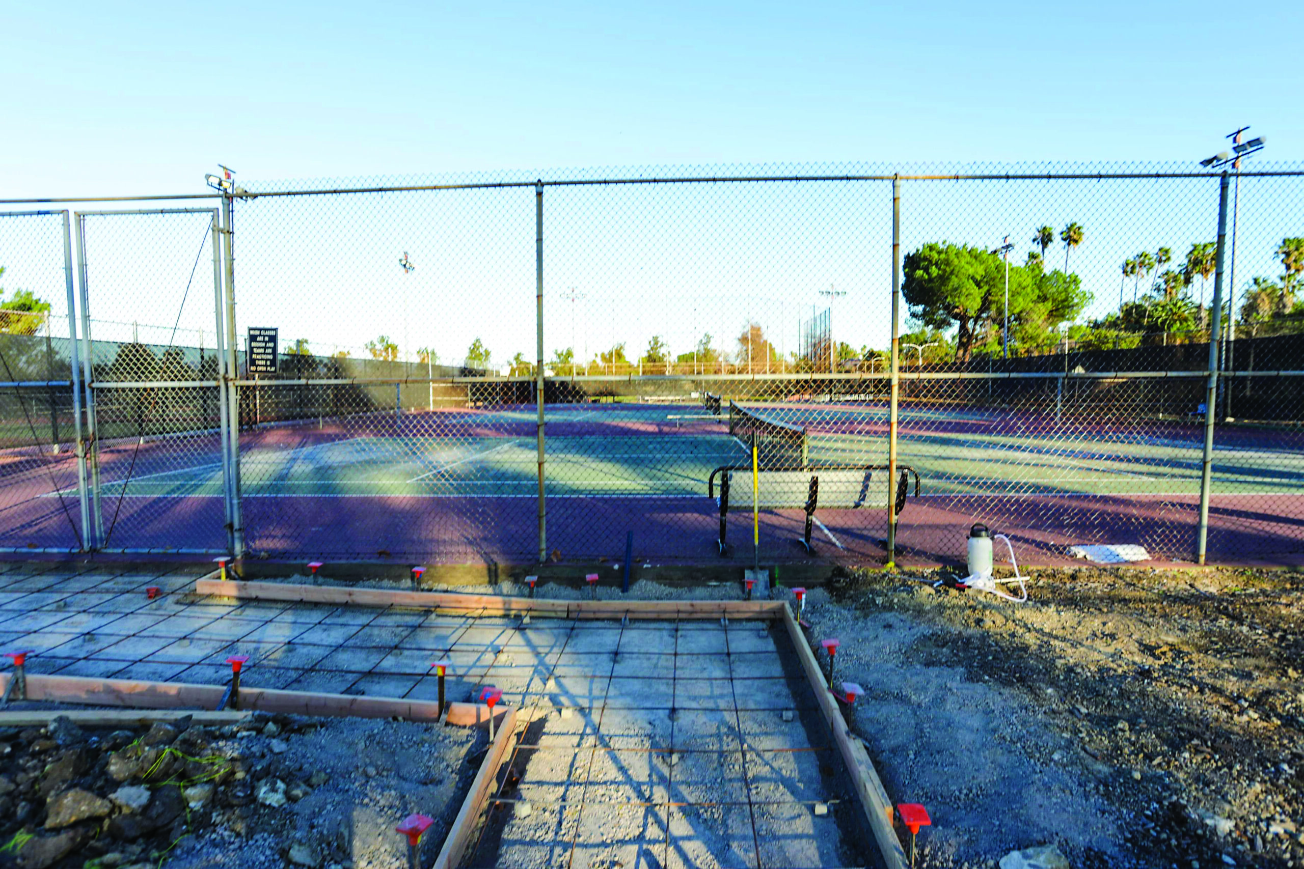 Tennis program gets cut