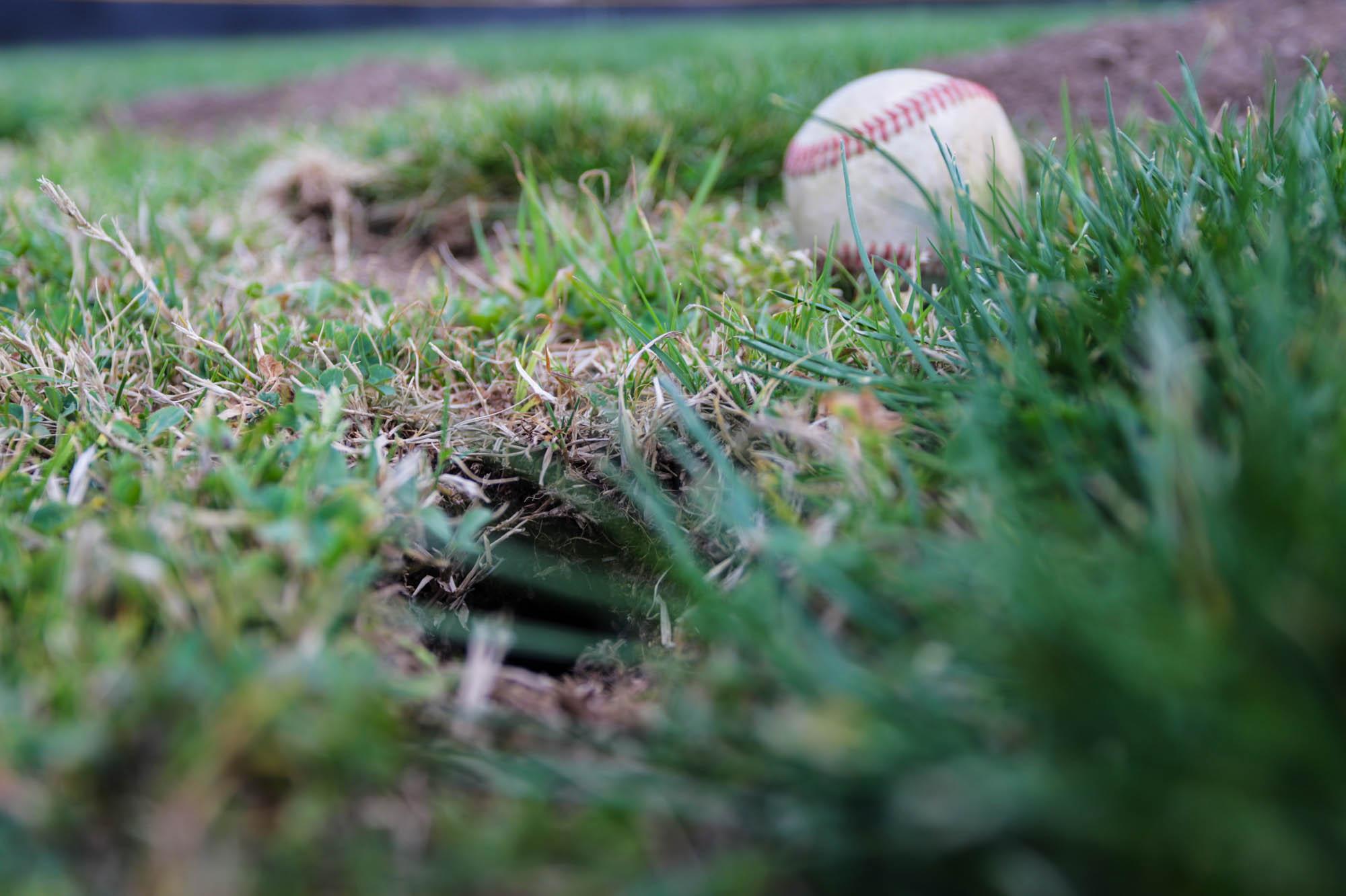Baseball field woes