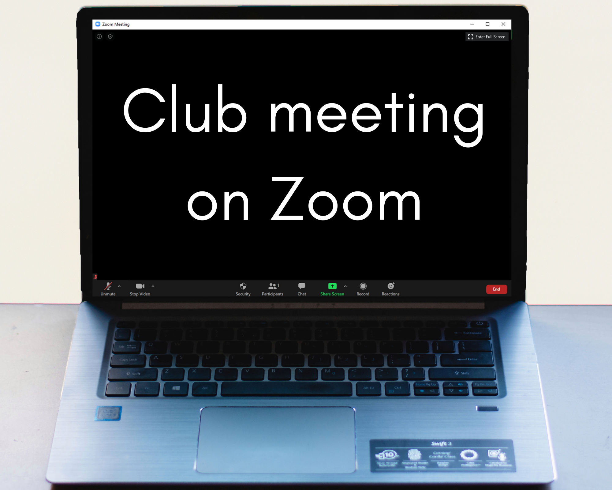 Clubs connect on computers