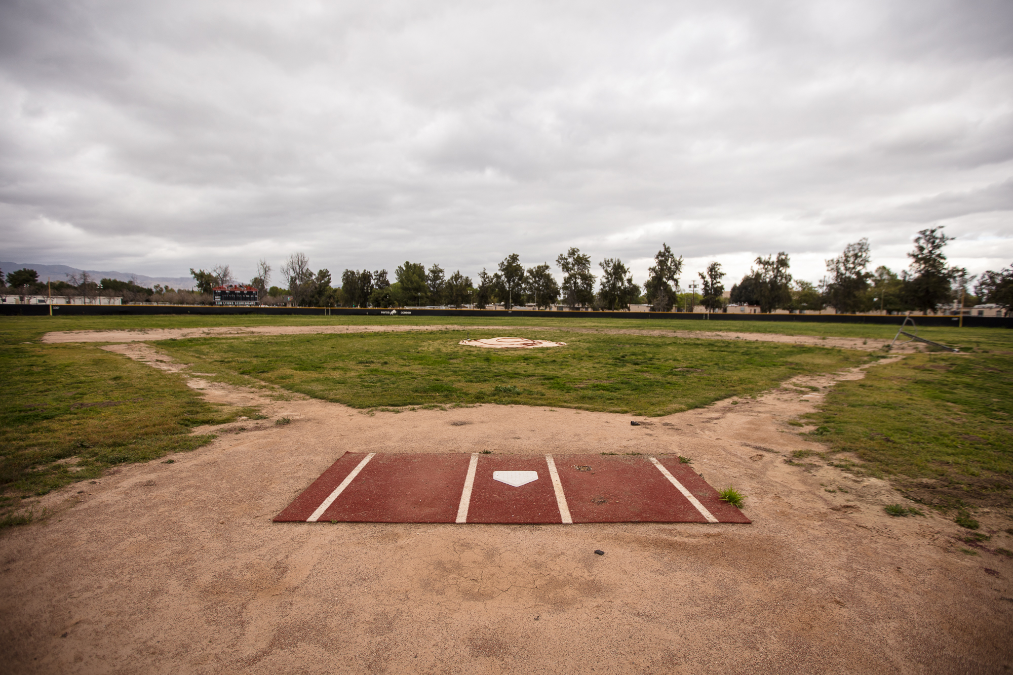 Abandoned field in need of a team