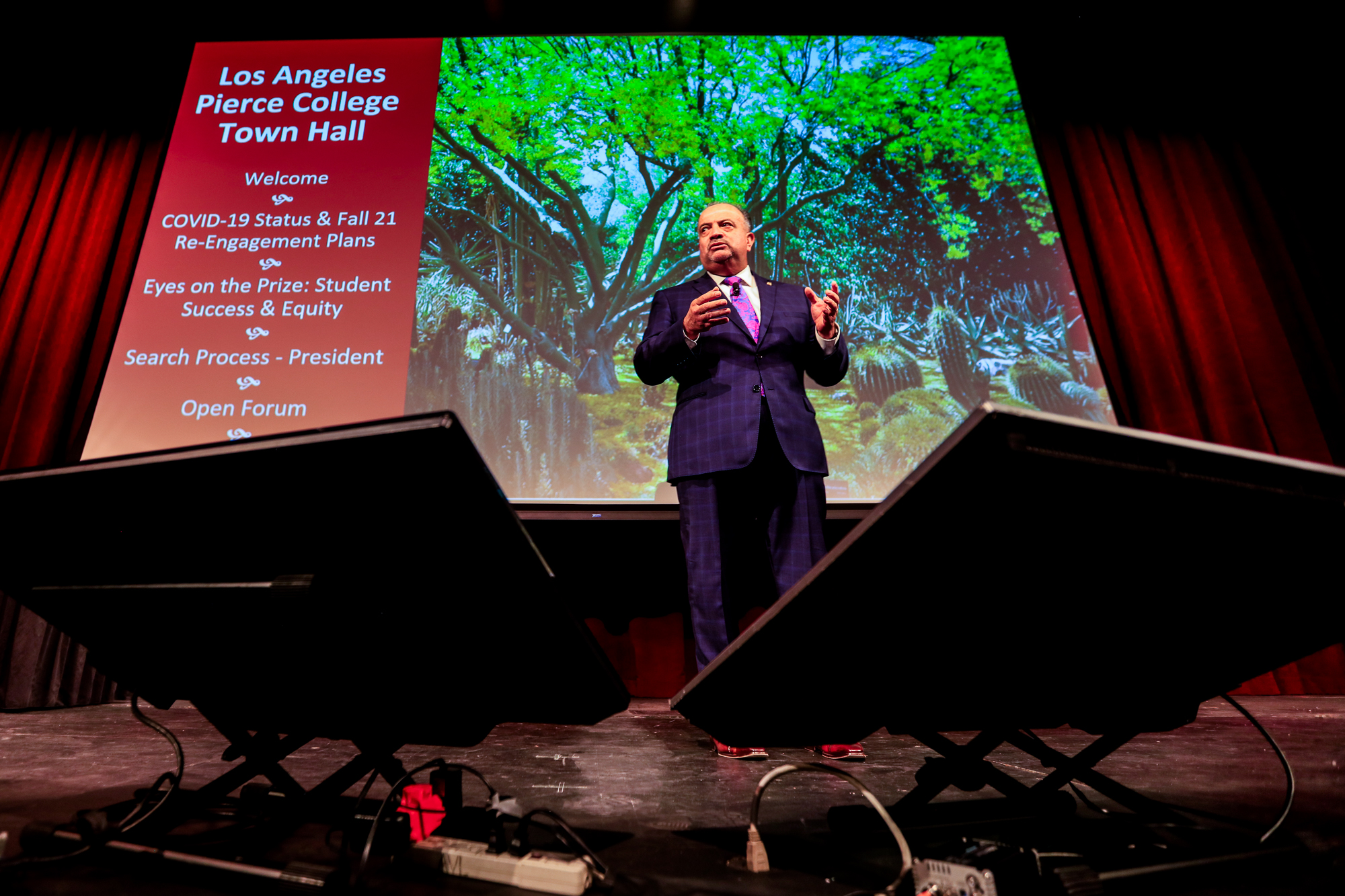 Town hall announces timeline for the next Pierce College president