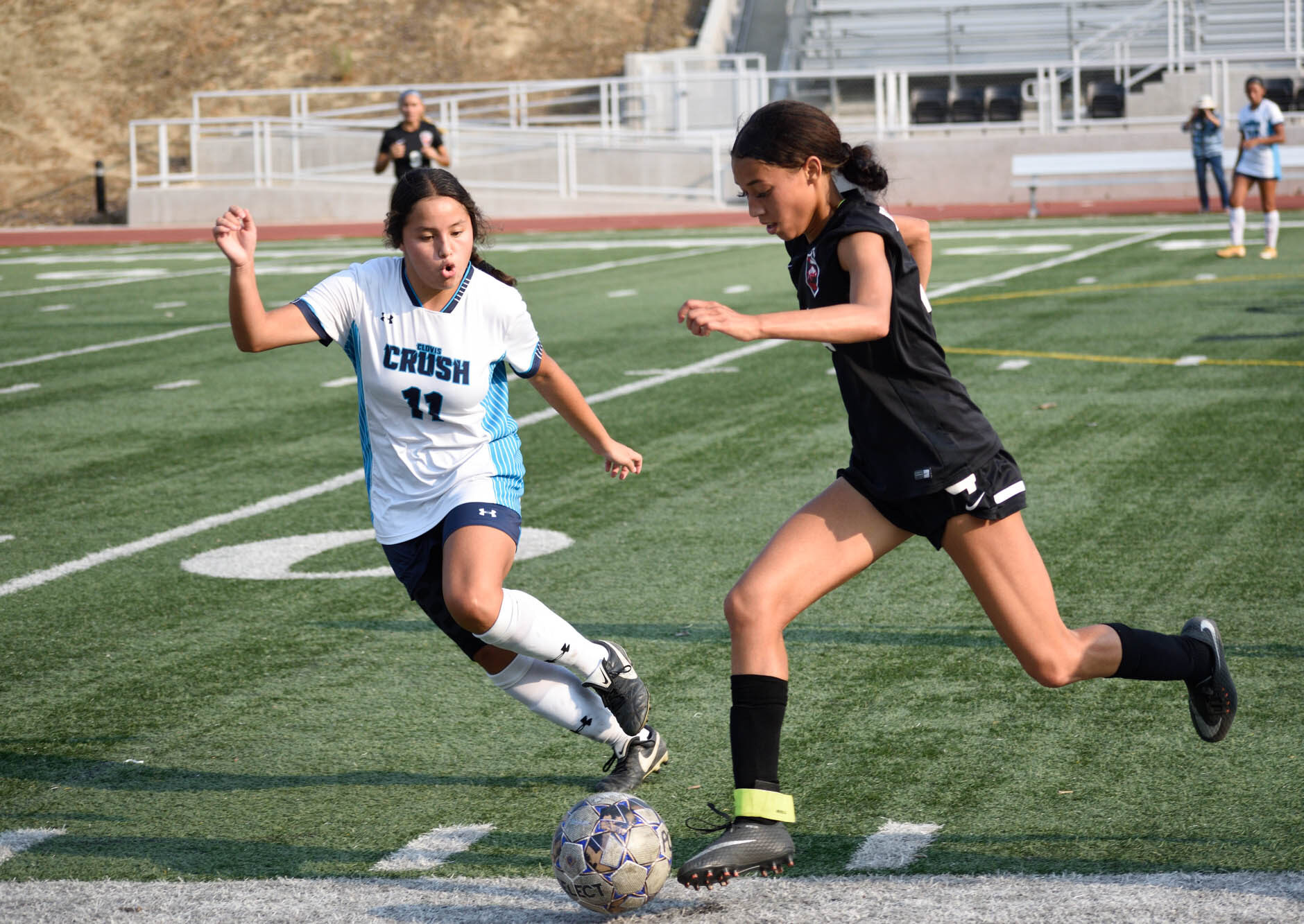 Soccer's undefeated run comes to an end