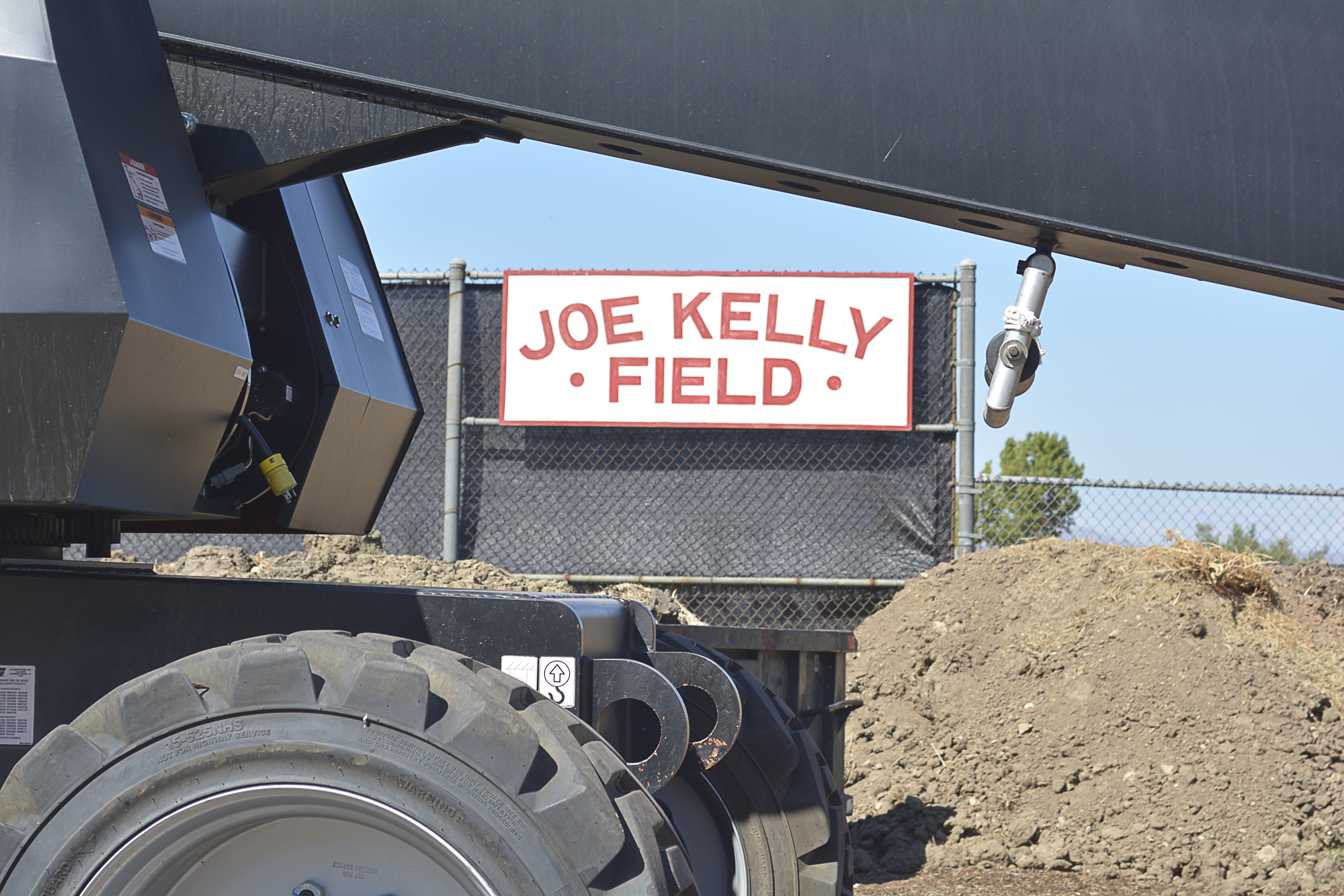 Reparations begin for baseball field